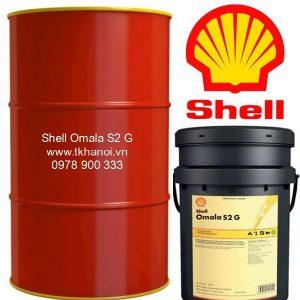 dầu bánh răng shell, dầu Shell Omala